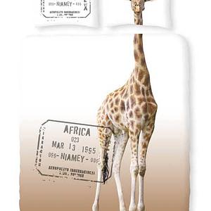 Dekbedovertrek Romanette Giraffe Beige