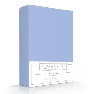 Romanette Hoeslaken Bleu Katoen