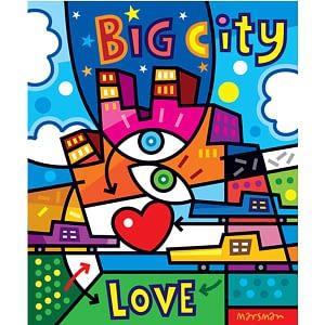 Schilderij Marsman Big City Love