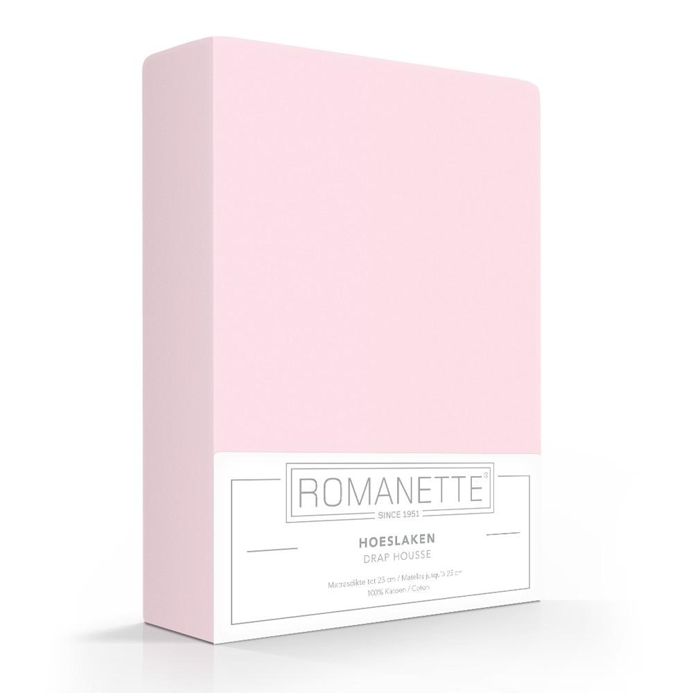 Romanette Hoeslaken Rose Katoen